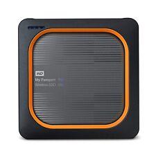 WD 500GB My Passport Wireless SSD Portable Drive, WiFi USB 3.0 - WDBAMJ5000AGY