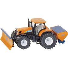 Tracteurs agricoles miniatures orange en plastique