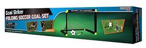 Goal Striker Folding Soccer Goal Set - Garden Games - Outdoor Sports (ES464)
