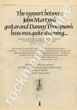John Martyn Sunday's Child Imperial College, London MM5 LP/Tour Advert 1975