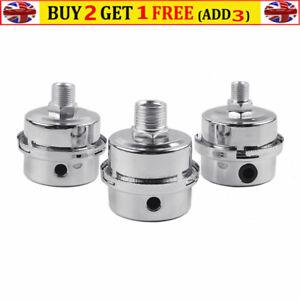 Metal Air Filter Oil-Free Muffler Air Compressor Pump Access Replace 13/16/20mm