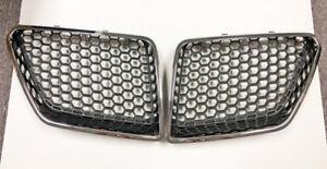 08-09 Pontiac G8 GT GXP Upper Kidney Grilles Mesh Inserts Pair GM OEM Grill