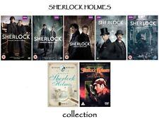 Sherlock series 1 2 3 4 + The Adventures of Sherlock Holmes 18  dvd set