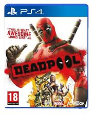 Playstation 4 Ps4 Game Deadpool Brand New And Sealed