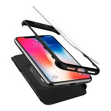 360 ° Ultra Thin Hard Case with Tempered Glass for Apple iPhone X10