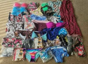 Swimwear Joblot 50 Pieces Tops Bottoms Sets Tankinis Swimsuits Wholesale Bundle