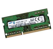 4gb Samsung ddr3l tan DIMM RAM 1600 MHz pc3l-12800s para portátiles de memoria 1.35v