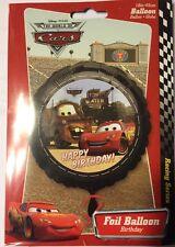 "Disney • Pixar • The World Of Cars • 18"" Happy Birthday Foil Balloon"