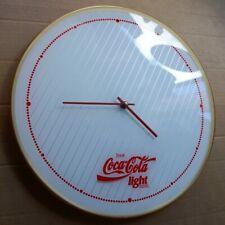 COCA COLA Light Alte originale Wanduhr Essen um 1990 PERFEKT Limonade Diners TOP