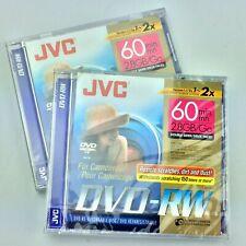 Jvc Dvd-Rw Camcorder Disc 60 Min 2.8 Gb Vd-W28Du 2 Discs New