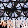 3D Nail Art Tips Gems Crystal Glitter Rhinestone Manicure Wheel Decoration Hot