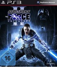 Playstation 3 star wars the force unleashed II 2 l'allemand d'occasion comme neuf