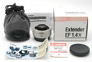 【TOP MINT BOXED】Canon Extender EF 1.4x Teleconverter Lens for EOS From JAPAN
