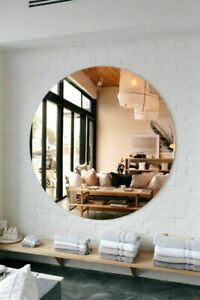 ROUND WALL MOUNTED BATHROOM HALL COSMETIC MIRROR 400mm
