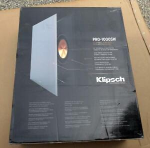 Klipsch PRO-1000SW 10″ In-Wall Subwoofer