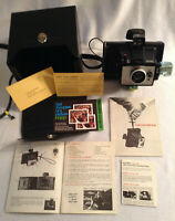 Vintage Polaroid Colorpack II Land Camera Complete Set.  Photography 1969-1972