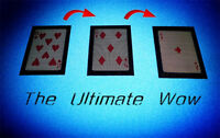 WOW 3.0 The Ultimate WOW Magic Tricks Change Twice Card Close Up Gimmick Props