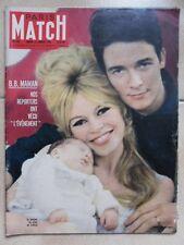 Paris Match N° 563 Brigitte BARDOT Jacques CHARRIER Marilyn MONROE Yves MONTAND