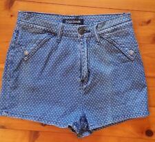 Ziggy Denim High Waisted Rib Warmers Denim Shorts - Size 29-  great condition
