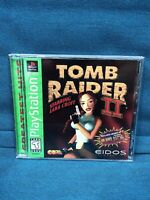 Tomb Raider II Starring Lara Croft GH (Sony PS1, 1997) *Complete - Tested -