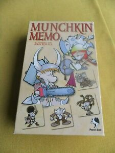 Munchkin Memo von Pegasus Spiele