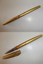 stylo plume doré