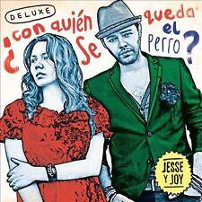 Con Quien Se Queda el Perro [Deluxe Edition] by Jesse & Joy (CD, Dec-2012, Warne