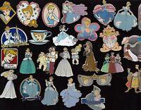 19 DISNEY épinglette pins Walt Disney Monde Disney PAYS choisir : Cendrillon