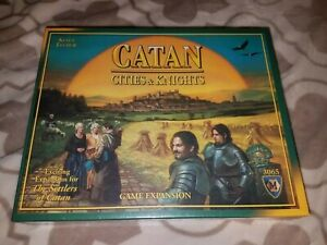 Settlers of Catan Cities & Knights catan game expansion
