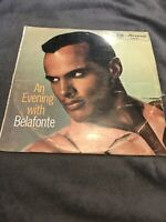 An Evening With Belafonte  Harry Belafonte Vinyl Record