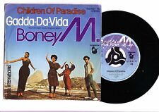 "BONEY M Children Of Paradise / Gadda-Da-Vida  7"" Vinyl 1980 Germany.  Pic Slv."