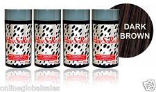 4 x HairSoReal, HSR Hair Loss Concealer, Cover Bald Spots Instantly ~ Dark Brown