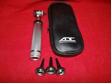 Adc 5211 American Diagnostic Ear Otoscope Speculas Case Pocket Handheld