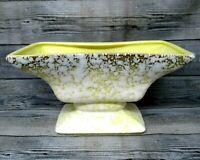 Vintage Mid Century Modern Planter Ceramic Pot Royal Windsor USA Yellow