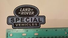 Land Rover Embroidered  Patch Special Vehicles SVO group