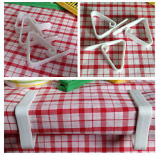 10pc Cover Cloth Tablecloth Clip Table Holders Clamps for Wedding Party Picnic