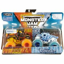 Monster Jam Monster Trucks Walmart Exclusive Fire & Ice Horse Power vs Octon8er