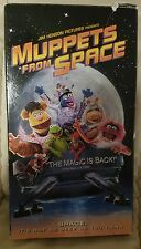 Muppets From Space (1999) VHS Tape Kermit Miss Piggy Gonzo
