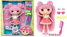 Lalaloopsy Loopy Hair Jewel Sparkles Full Size Yarn Hair Doll w/ Hair Clips NEW