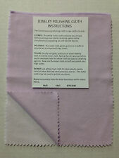 "Silver Polishing Cloth Connoisseurs 8"" x 11"" Jewelry Cleaner Bagged Gold Silver"