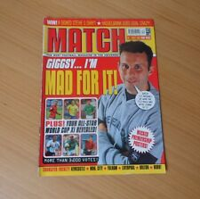 MATCH MAGAZINE-27th/JULY/SEASON 2001/2002-DEADLY DUOS PREMIERSHIP POSTERS