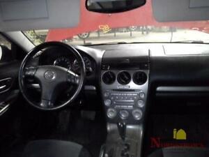 2005 Mazda 6 TEMPERATURE CONTROLS
