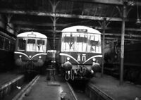 PHOTO  GWR  SWINDON STOCK SHED IN 1957