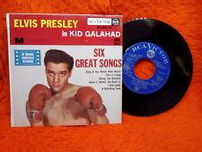 ELVIS PRESLEY EP 45T IN KID GALAHAD SIX GREAT SONGS RCA 86.307 M FRANCE