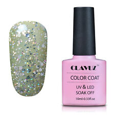 CLAVUZ UK Nail Gel Polish Soak Off UV LED 10mL Top Base Coat Classic Range