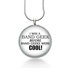 Band Geek Jewelry, Marching Band pendant, Quote Necklace, Christmas gifts