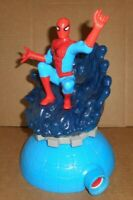 "Amazing Spider-Man 9½""  Lawn Sprinkler Water Squirt Toy Marvel Imperial 2009"