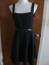 Armani Exchange women's lined A-Line navy dress size 12  NWT