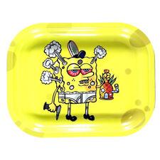 "Smoke Arsenal Premium Rolling Tray ""Spongebob DabPants"" 7""x5.5"""