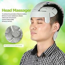 Electric Head Massager Brain Massage Relax Stress Easy Acupuncture Points G2X1